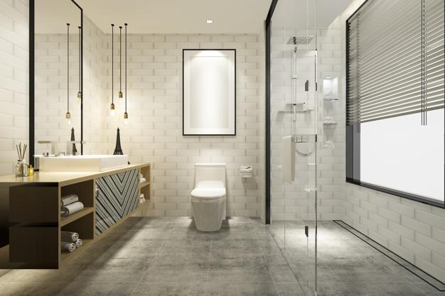 luksus badeværelse