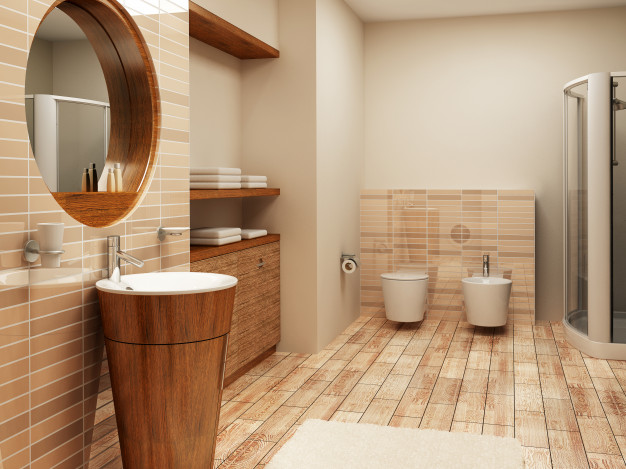 showroom badeværelse