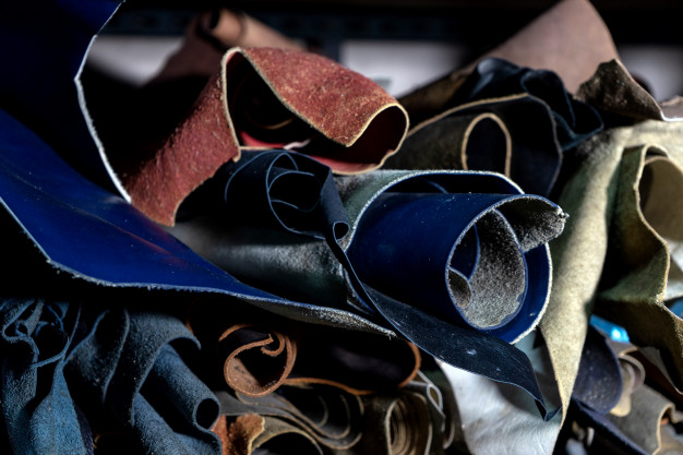 læder som metervarer